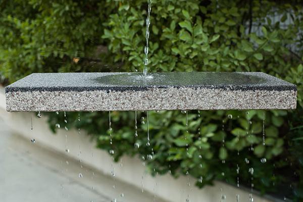 陶瓷透水砖透水性