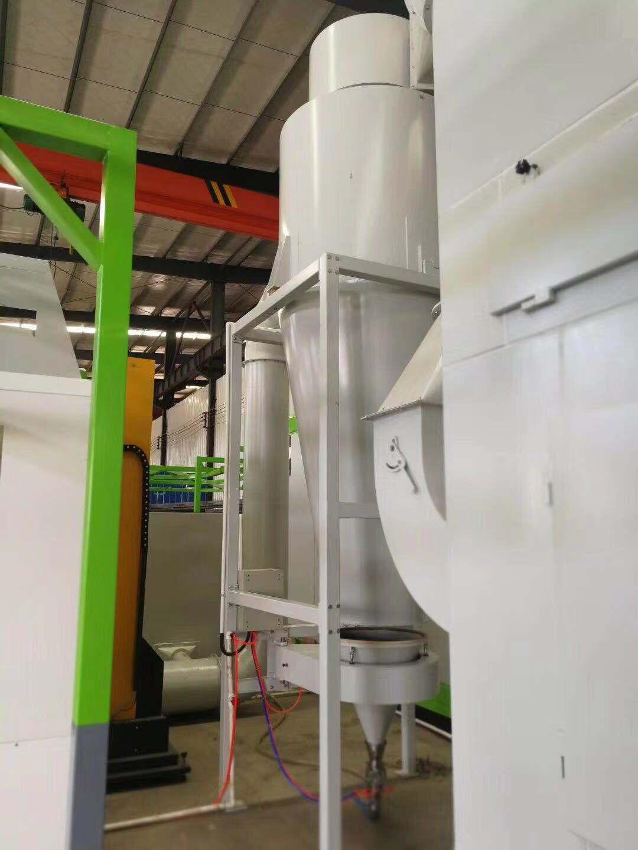 大旋风二级回收喷粉房