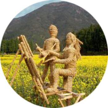 稻草人供应与施工