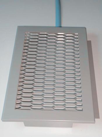有筋擴張網 廣州國景金屬網天花生產廠家直銷視覺效果獨特的鋁網格板