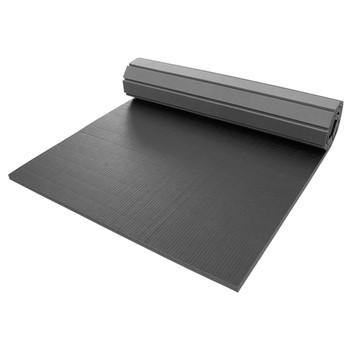批发优质皮革+XPE发泡家庭道馆小尺寸快速拼接卷垫 摔跤垫 训练垫