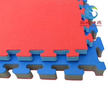 专业跆拳道垫子2.5 3.0环保加厚1米道馆武术训练比赛专用泡沫地垫