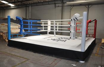 国际标准比赛拳击擂台 训练拳击台 比赛专用擂台 厂家直销