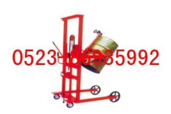可倾式油桶装卸车