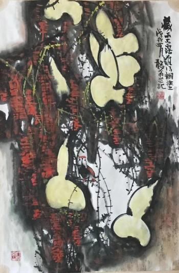 河南焦作艺双画廊书画家杨正温老师作品