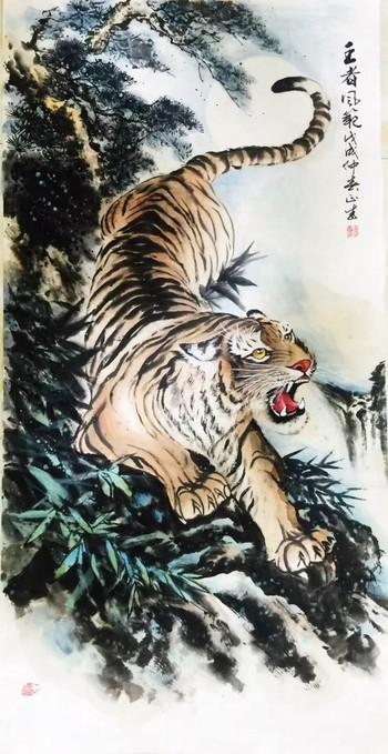 河南焦作艺双画廊书画家张正武老师作品