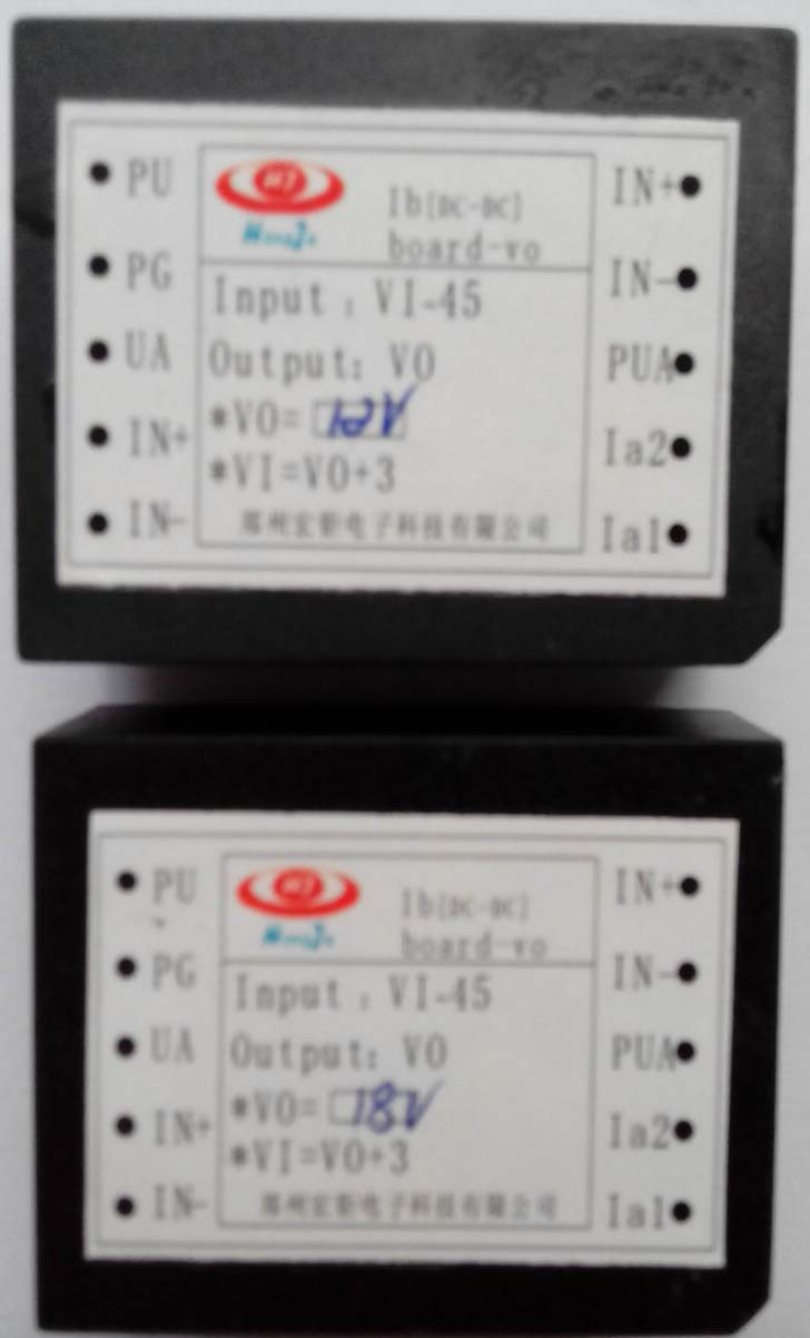 模块输入电压的选择   模块本安输出电压与输入电压基本相同(当电路