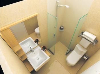 2-3平方整体卫浴
