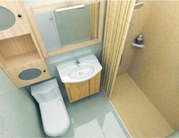 3-4平方整体卫浴