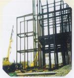 安彩集團信益增資擴建項目鋼框架制安