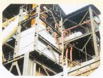 安鋼集團燒結廠90燒結機帶冷機系統余熱鍋爐安裝