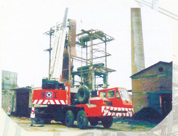 山西電廠35T/H鍋爐安裝