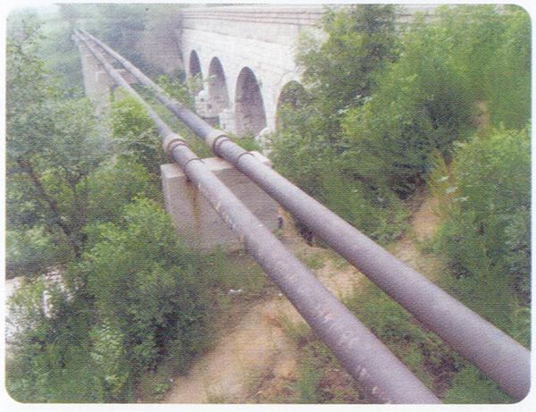 安陽電廠八期改擴建廠外沖灰管線制安