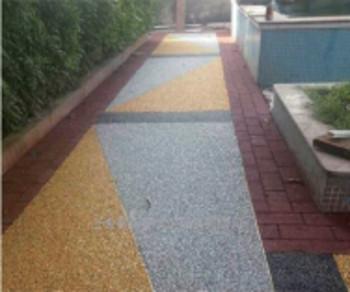 室外彩色路面地坪