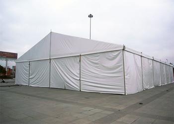工业仓储篷房也可用做临时性仓库篷房