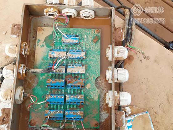 郑州荥阳3×12米100吨地磅故障维修案例