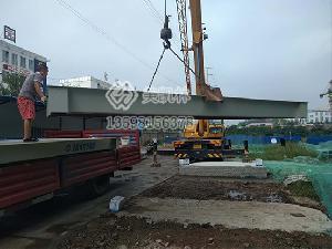 信阳3×9米80吨地磅安装案例