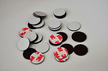 橡胶磁圆片(贴胶)