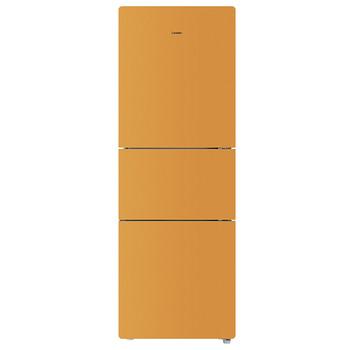 橙色玉砂彩晶三门冰箱 BCD-215LSTCH