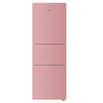 粉色玉砂彩晶三门冰箱 BCD-215LSTCI