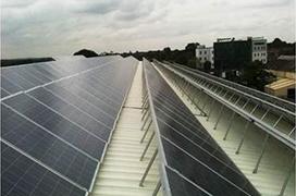 彩鋼瓦屋頂可調節角度支架