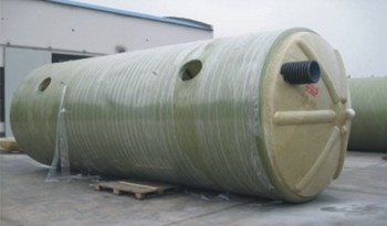 高抗压机械缠绕型玻璃钢化粪池