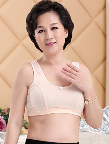 中老年女背心内衣