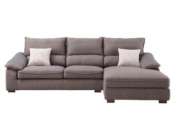 组合L型可拆洗布艺沙发
