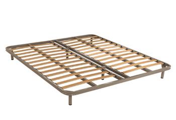 折叠排骨架床双人床