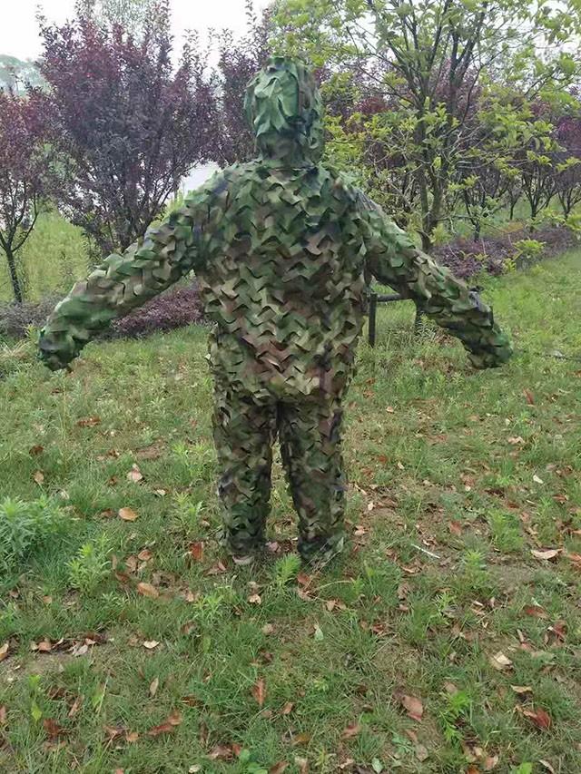 单兵丛林迷彩伪装服