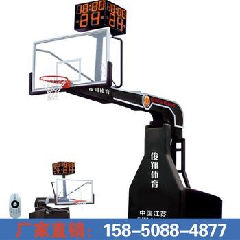JX-1001 遥控新型电动液压篮球架 (24秒另配)