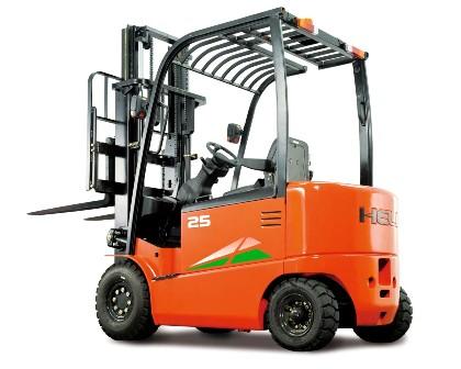 G系列2-2.5吨交流蓄电池平衡重式叉车