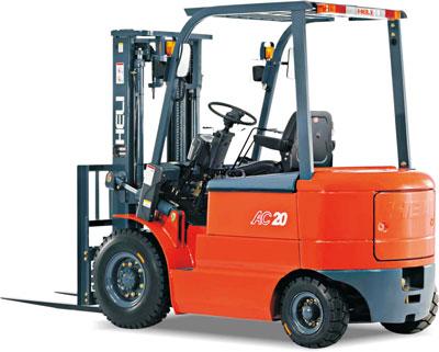1-2.5吨交流四轮平衡重式蓄电池叉车
