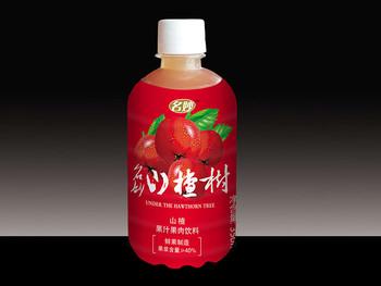 山楂果汁果肉饮料