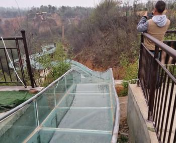 玻璃水滑道
