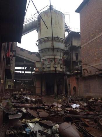 漯河化肥烘干窑生产线拆除
