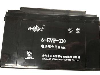 6-EVF-120丹宏牌蓄电池