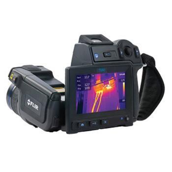 T640 45°菲力尔/FLIR 热成像相机,标配45°镜头,带Wi-Fi功能,-40~2000℃,640*480,30mK,可传输全辐射红外视频流
