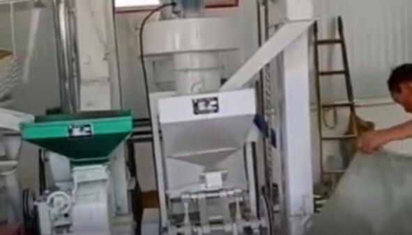 陜西省榆林小型碾米機設備投產