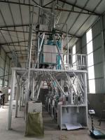 河南周口30噸面粉機試車成功