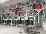 甘肅臨夏市和政縣安裝的五臺沙克龍面粉機設備