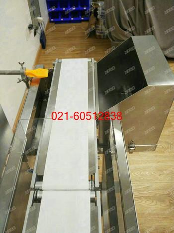 螃蟹自动重量选别机5-300g自动上料检重选别计数一体机