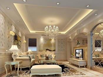 常桂装饰159平米欧式风格精致典雅大户型室内装修