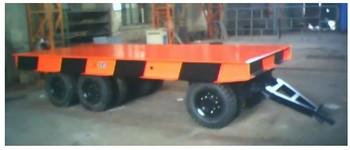 轮胎式电动平车
