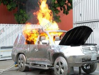 小型轿车真火训练系统