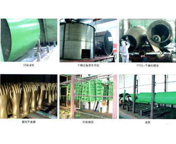 紡織工業噴涂
