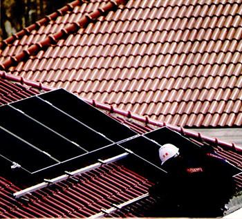 居民薄膜发电屋顶系统