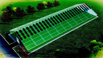 光伏薄膜温室农业大棚