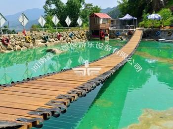 水上趣桥与网红桥