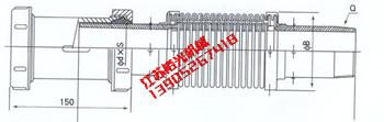 MP-A型煤气管道挠性补偿器